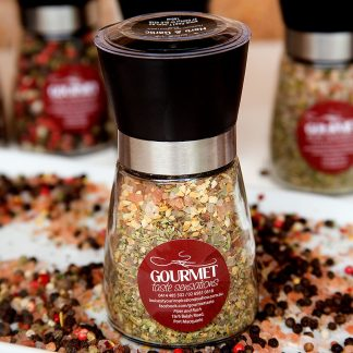 Herb and Garlic Gourmet Salts
