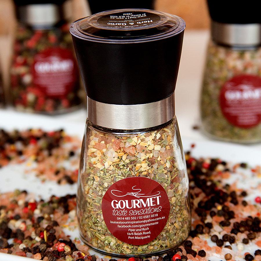 Herb and Garlic Gourmet Salts