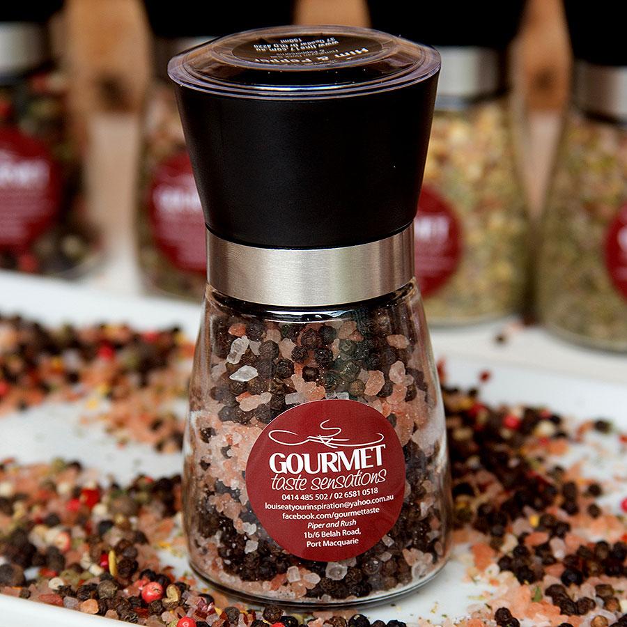 Himalayan Salt and Peppercorn Grinder