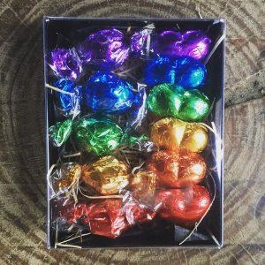 Rainbow Chocolates Baba Lila box