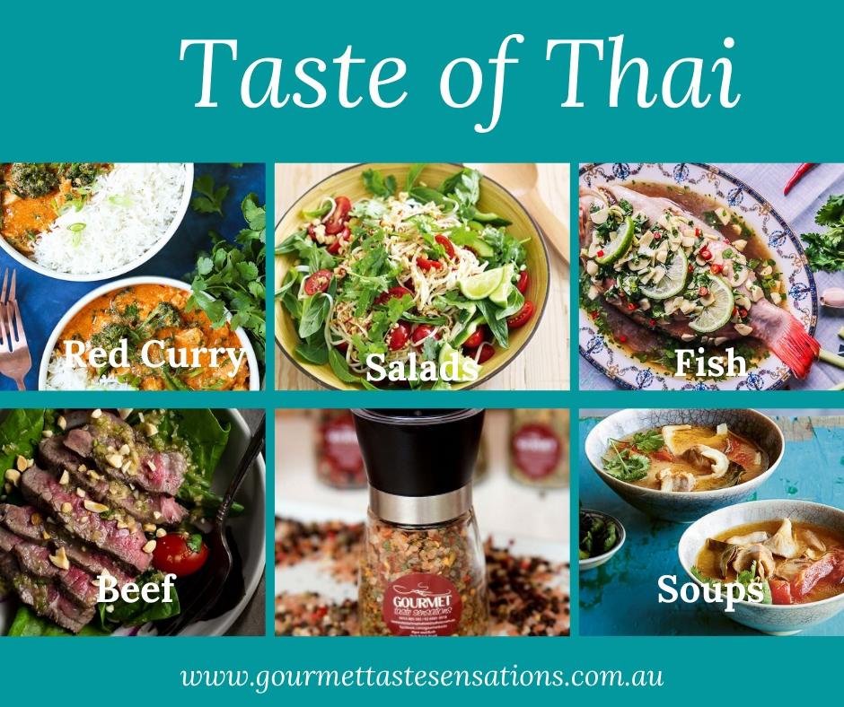 Taste of Thai - Hints & Tips