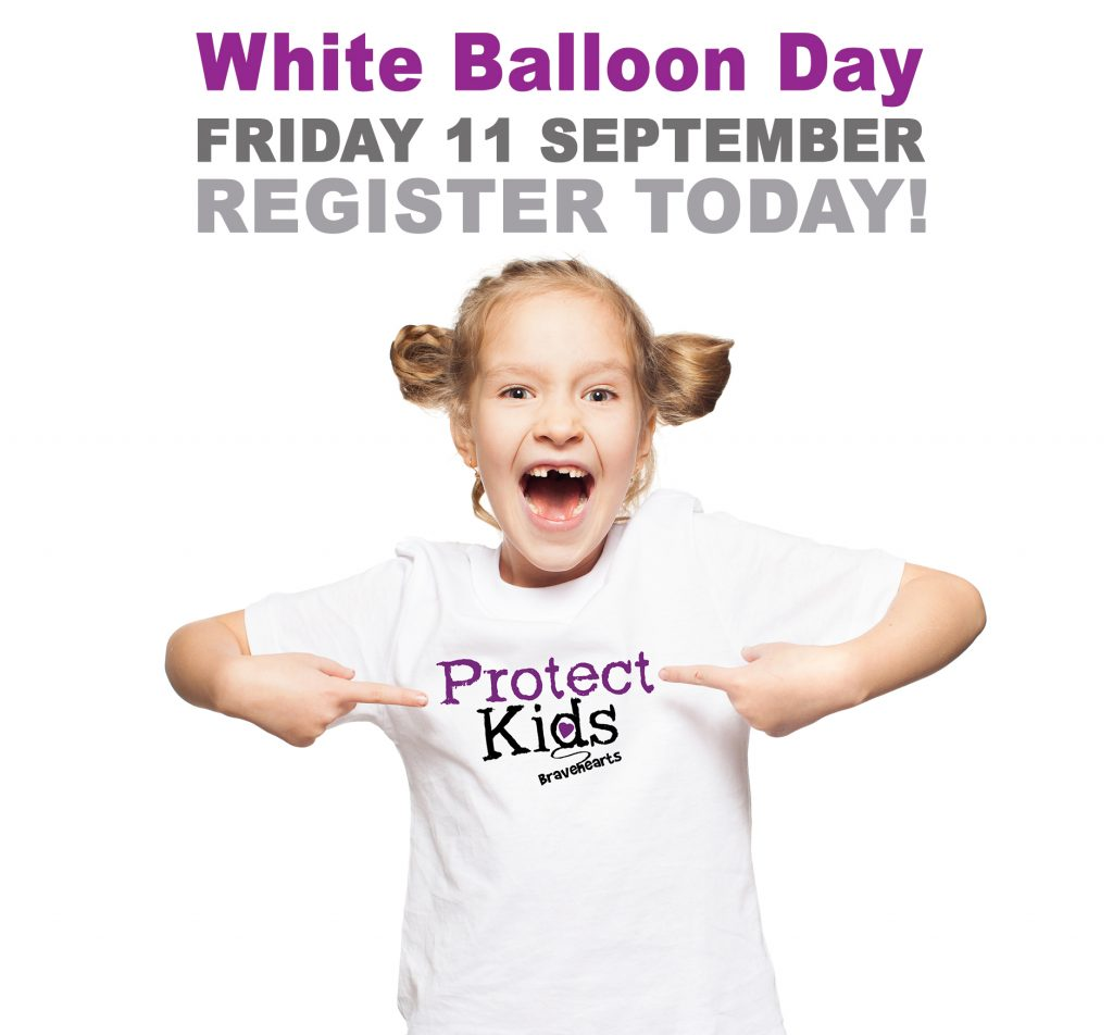 White Balloon Day - Friday 11 September